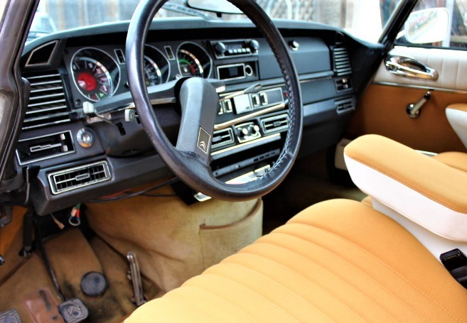 1972 Citroen DS21 Pallas - Dash