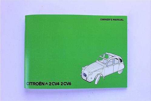 Citroen 2CV Owner's Manual