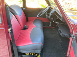 1967 Charleston 2CV - Interior Front