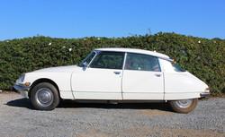 1972 White Citroen DS21 - Left Side