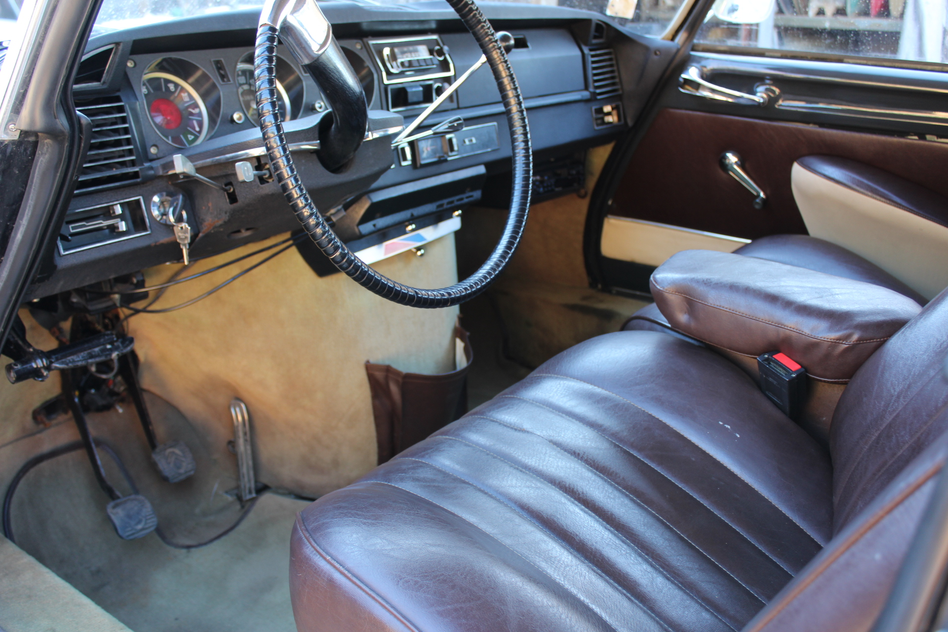 1970 Citroen DS21 - Dash