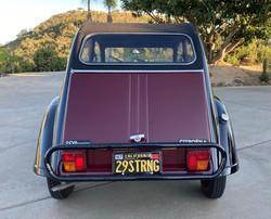 1967 Charleston 2CV - Back