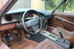 1972 Red Citroen SM - Front Interior
