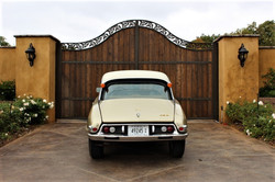1972 Citroen DS21 Pallas - Back