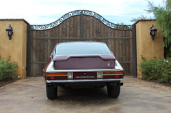 1972 Red Citroen SM - Back