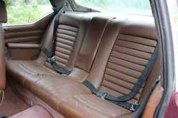 1972 Red Citroen SM - Rear Interior
