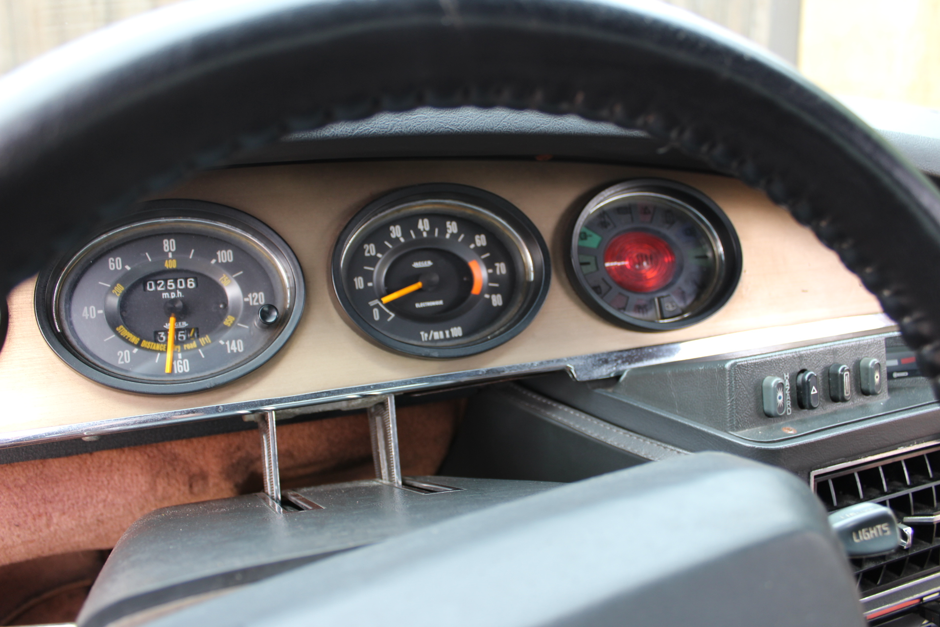 1972 Red Citroen SM - Dash