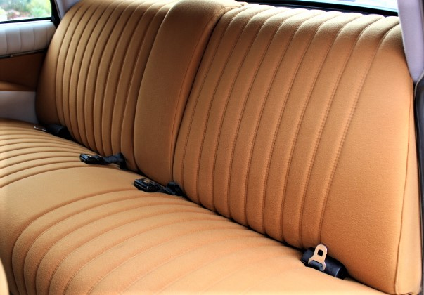 1972 Citroen DS21 Pallas - Back Interior