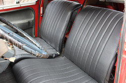 1969_Red_Citroen_Dyane_Front_Interior