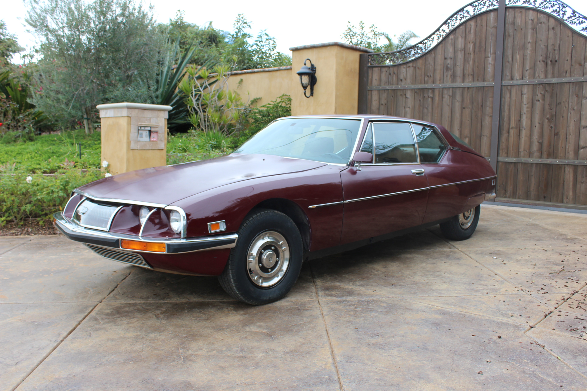 1972 Red Citroen SM - Driver Front