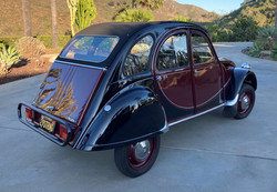 1967 Charleston 2CV - Back Side