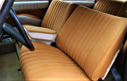 1972 Citroen DS21 Pallas - Front Interior