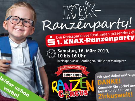 1. KNAX-Ranzenparty in Reutlingen