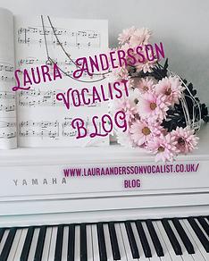 Laura Andersson Vocalist BLOG