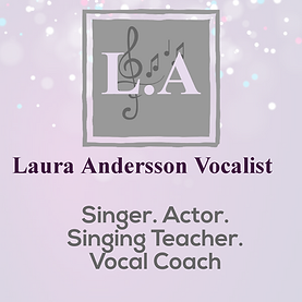 Laura Andersson Vocalist Logo