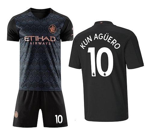 Sergio (Kun) Agüero Away Manchester City