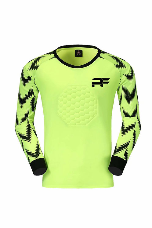 Premier Force Goalie Shirt - Neon Yellow
