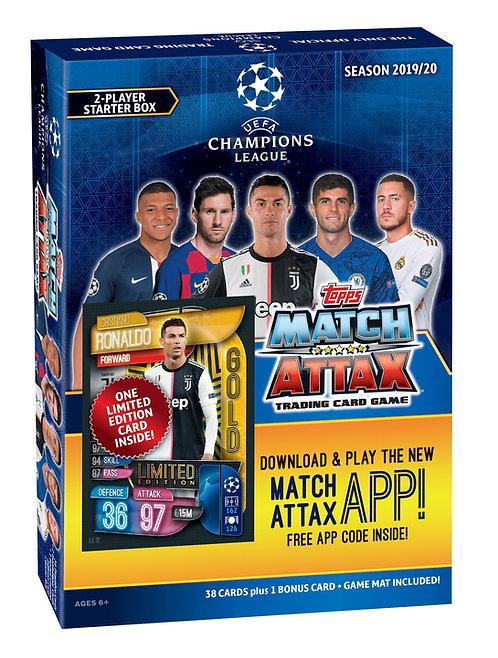 2019/2020 Topps UEFA Champions League Match Attax Soccer Starter