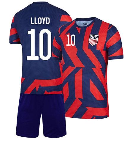 Carli Lloyd USA Away