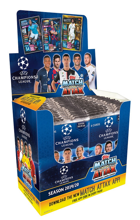 2019/2020 Topps UEFA Champions League Match Attax Soccer Cards