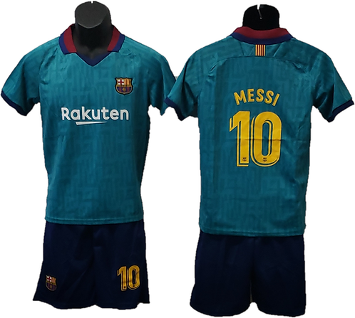 Lionel Messi 2nd Away Barcelona