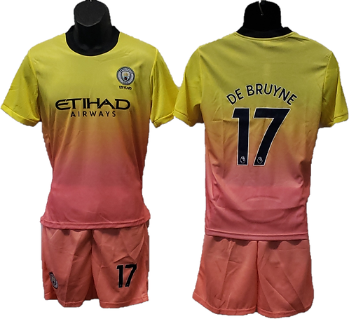 Kevin De Bruyne Manchester City 2nd Away