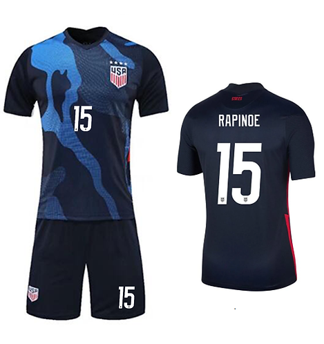 Meghan Rapinoe USA Away