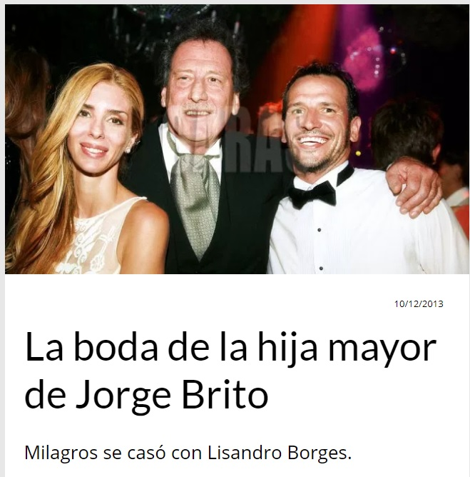 Boda Milagros Brito & Lisandro Borge