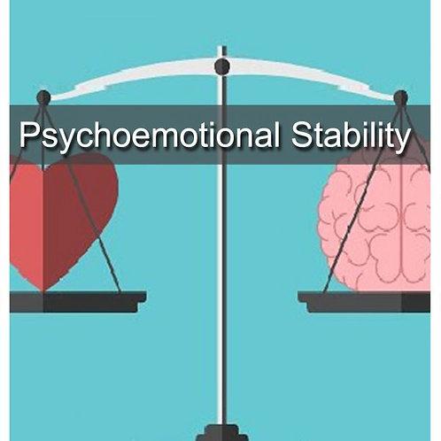 Psychoemotional stability
