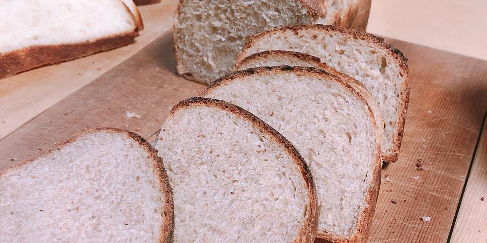 酵母から楽しむ天然酵母の手ごねパン講座2020 ➀ナッツを愉しむ