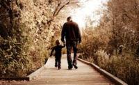 dad walking