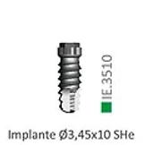 Implante Sin Montar Ø3,45