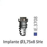 Implante Montado Ø4,00 SHe