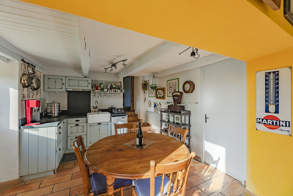 French kitchen at Chez Recoin