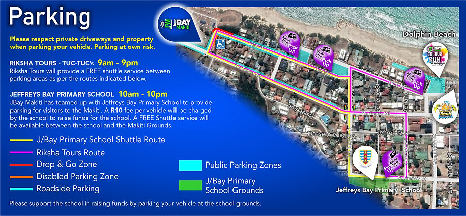 JBay Makiti 2019 -Where to park