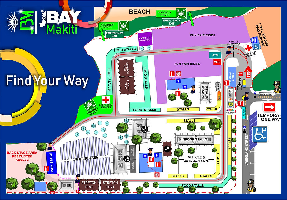 JBay Makiti 2019 Layout