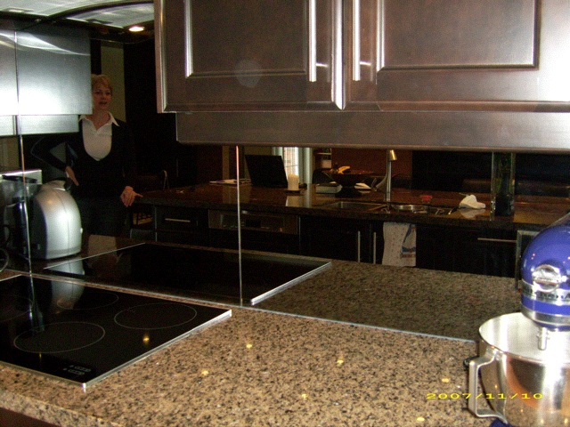 Kitchen mirror