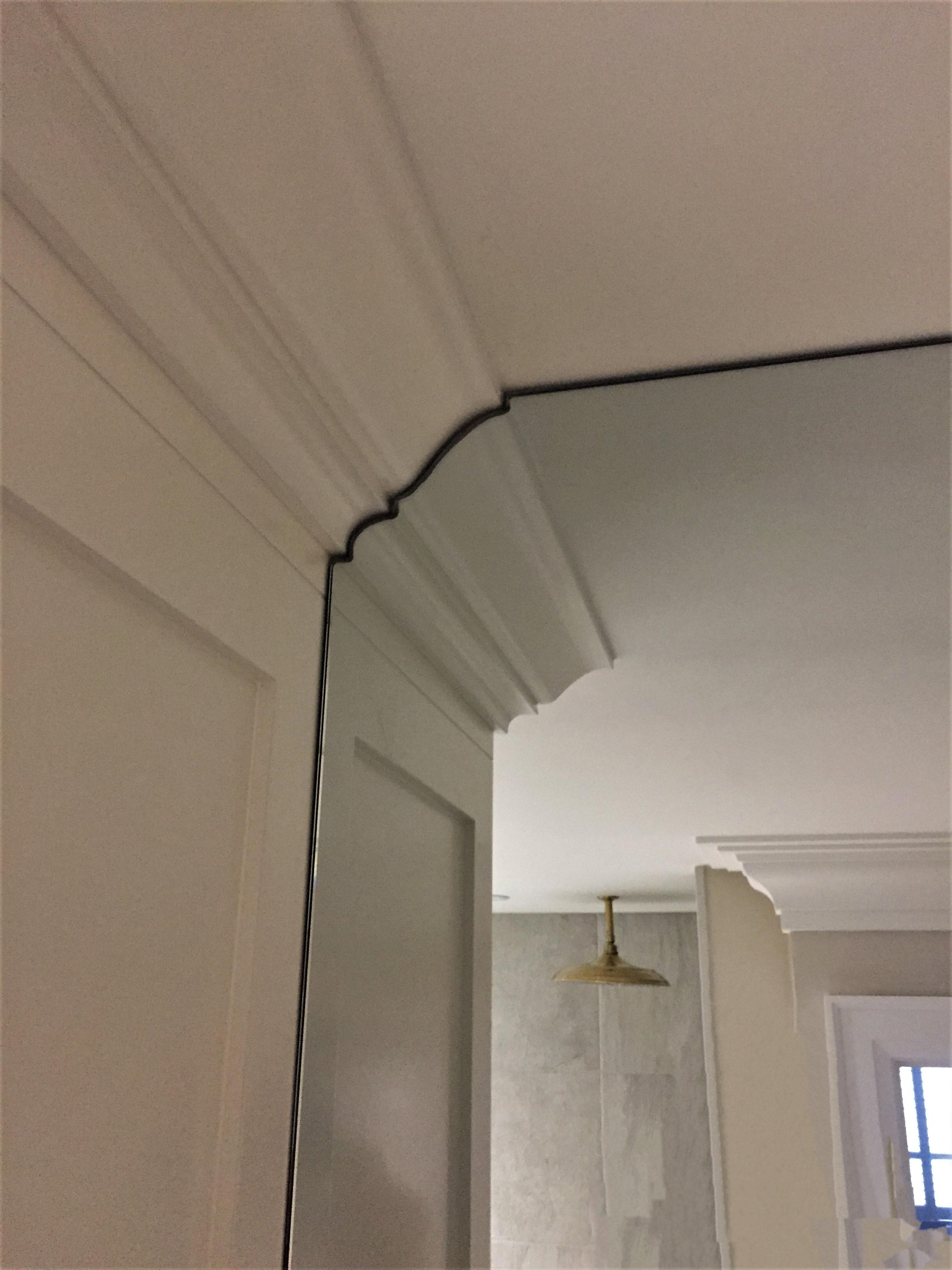 Mirrored wall