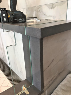 Precision bench seat cutout