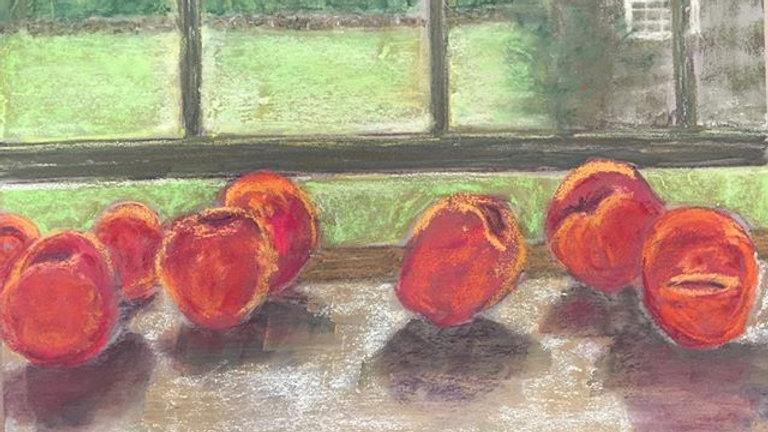 Young Farm peaches, Little Compton, RI