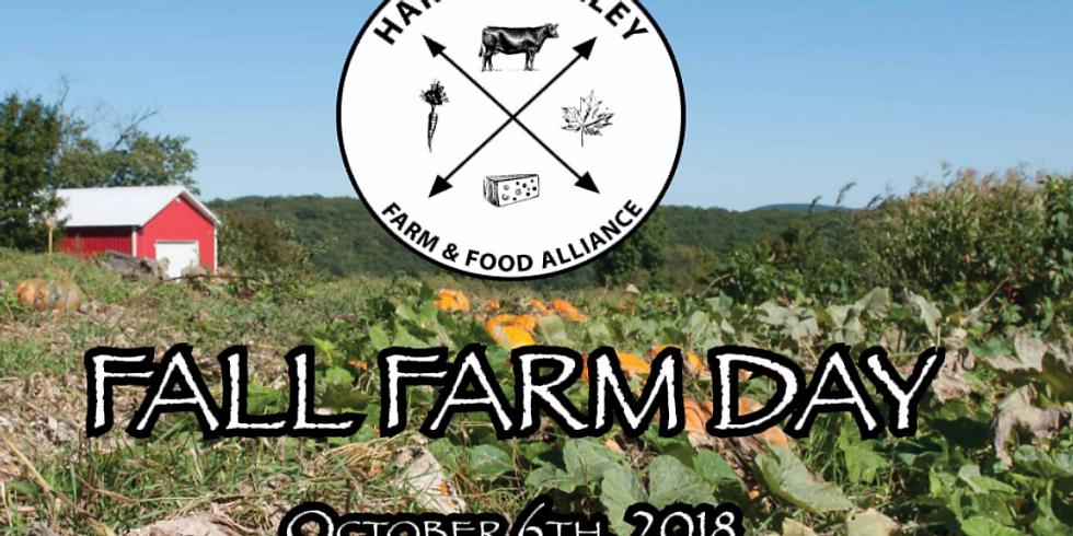 Harlem Valley Farm and Food Alliance Farm Day: Fall 2018