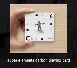 super elements carbon card