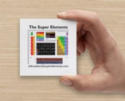 super elements periodic table playing ca