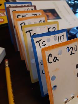 superelements lewis dot concept cards fo