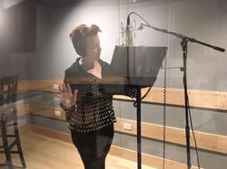Recording in L.A. studio