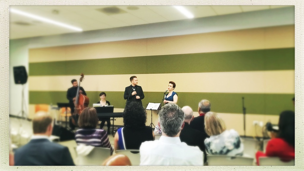 Singing for PRASAD event at Google