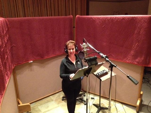Recording at Disney