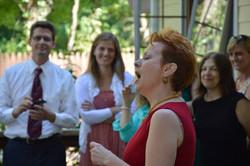 Performing at New York Wedding