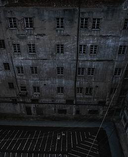 Bâtiment effrayant