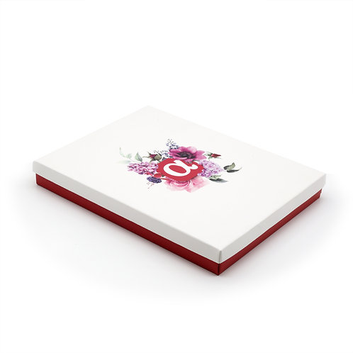 Подарочная коробка под альбом, самосборная, 220х290х40 мм